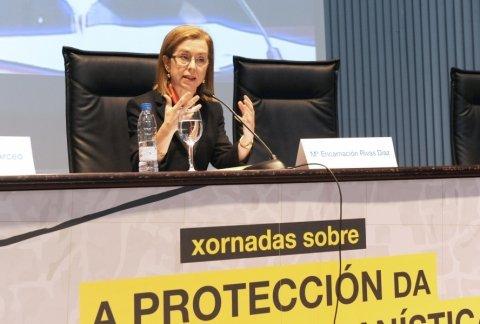 María Encarnación Rivas Díaz, Secretaria xeral de Ordenación de Territorio e Urbanismo  - Xornada sobre a Protección da Legalidade Urbanística